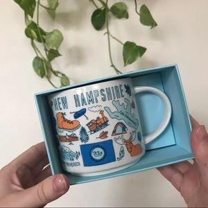 NIB Starbucks Been There Series New Hampshire Mug